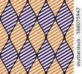 seamless vector abstract... | Shutterstock .eps vector #588075947