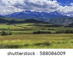 owl creek pass  colorado   july ... | Shutterstock . vector #588086009