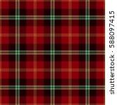 tartan seamless pattern... | Shutterstock .eps vector #588097415