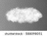 realistic vector transparent... | Shutterstock .eps vector #588098051