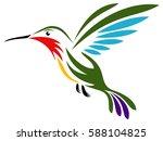 vector illustration of a... | Shutterstock .eps vector #588104825