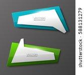 vector abstract banner. the... | Shutterstock .eps vector #588131279
