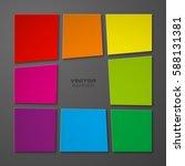 abstract vector background.... | Shutterstock .eps vector #588131381