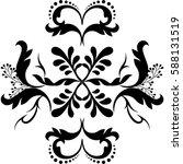 flower background | Shutterstock . vector #588131519