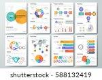 modern infographic brochure...   Shutterstock .eps vector #588132419