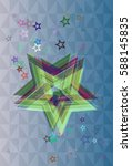cosmos elements icon | Shutterstock .eps vector #588145835