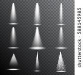realistic spotlight  limelight  ... | Shutterstock .eps vector #588145985