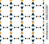 endless geometric background....   Shutterstock .eps vector #588152087