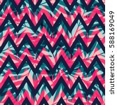 exotic seamless pattern with... | Shutterstock .eps vector #588169049