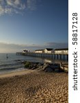 Southwold Beach And Pier At...