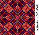 Ethnic Geometric Pattern ...