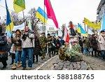 kyiv  ukraine   february 26 ... | Shutterstock . vector #588188765