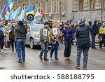 kyiv  ukraine   february 26 ... | Shutterstock . vector #588188795