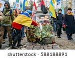 kyiv  ukraine   february 26 ... | Shutterstock . vector #588188891