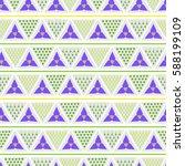 vector stylized flower colorful ...   Shutterstock .eps vector #588199109