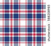 tartan seamless pattern. vector ... | Shutterstock .eps vector #588208985