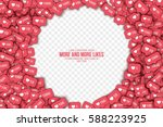 vector 3d like counter icons in ... | Shutterstock .eps vector #588223925