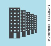 buildings icon  real estate... | Shutterstock .eps vector #588226241