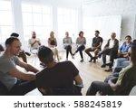 networking seminar meet ups... | Shutterstock . vector #588245819