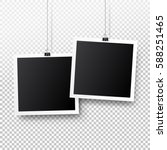 Blank Photo Frame Set Hanging...