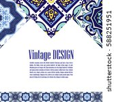 vintage banner for business and ... | Shutterstock .eps vector #588251951