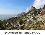 scenic nature background.... | Shutterstock . vector #588259739