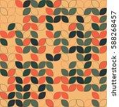 geometric seamless pattern...   Shutterstock .eps vector #588268457