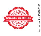 tested and approved. quality... | Shutterstock .eps vector #588283169