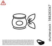 vector cream icon | Shutterstock .eps vector #588283367