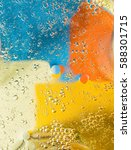 bubbles with colors abstract... | Shutterstock . vector #588301715