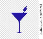 glass sign illustration. vector....