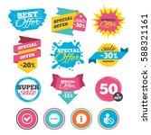 sale banners  online web... | Shutterstock .eps vector #588321161