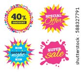 sale splash banner  special... | Shutterstock .eps vector #588327791