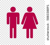 man and woman sign illustration.... | Shutterstock .eps vector #588338891