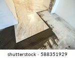 ceramic tiles and tools for...   Shutterstock . vector #588351929