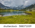 amazing landscape with muratovo ... | Shutterstock . vector #588371039