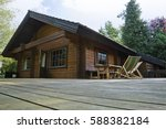 Scandinavian Cottage Wooden...