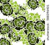 abstract elegance seamless... | Shutterstock .eps vector #588396401