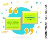 abstract concept vector empty... | Shutterstock .eps vector #588403055