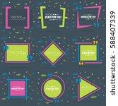 abstract concept vector empty...   Shutterstock .eps vector #588407339