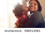 african descent family house... | Shutterstock . vector #588413081