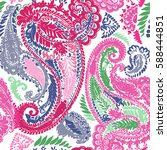 Paisley Trendy Color...