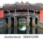 the japanese bridge at hoi an ...