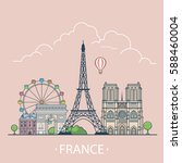 France Country Design Template...