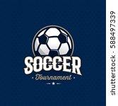 modern professional soccer... | Shutterstock .eps vector #588497339
