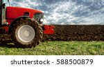 Agriculture. Tractor On The...