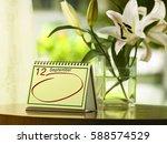 september 12 th.day 12 of the... | Shutterstock . vector #588574529
