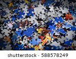 Background With Puzzles