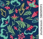 original  bright  trendy... | Shutterstock .eps vector #588589091