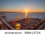 View From A Cruise Ship Deck A...